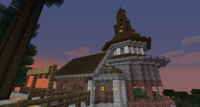 玄関と屋根
