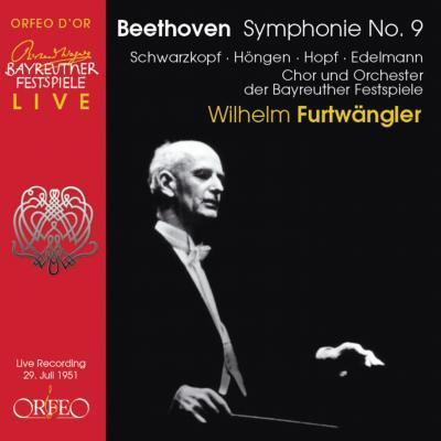 ベートーヴェン交響曲第9番(ORFEO盤、バイエルン放送局音源)/フルトヴェングラー、バイロイト祝祭管弦楽団