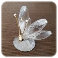 スワロフスキー蝶