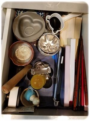 食器棚の引き出し片付け後