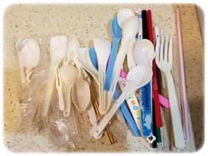プラスチック類