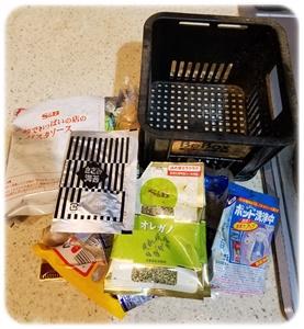 捨てる物と容器