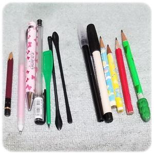 捨てる筆記用具
