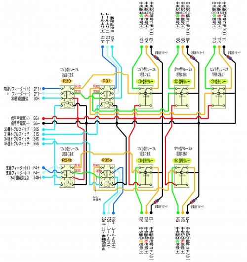 リレー配電基板 Cモジュール