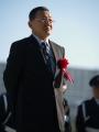 表彰式:内田勝義調教師