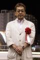 表彰式:佐々木仁調教師