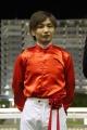 表彰式:山崎誠士騎手