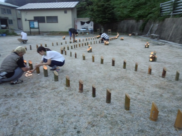 竹灯篭0917