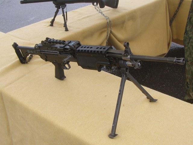 5.56mm機関銃0922