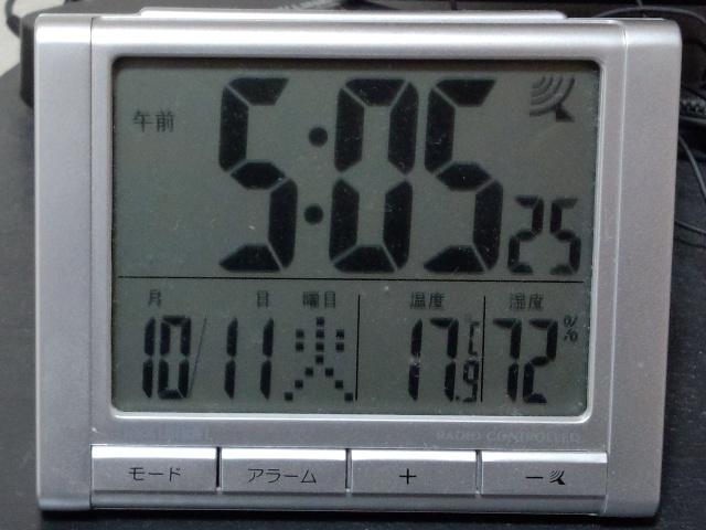 室内温度計1015