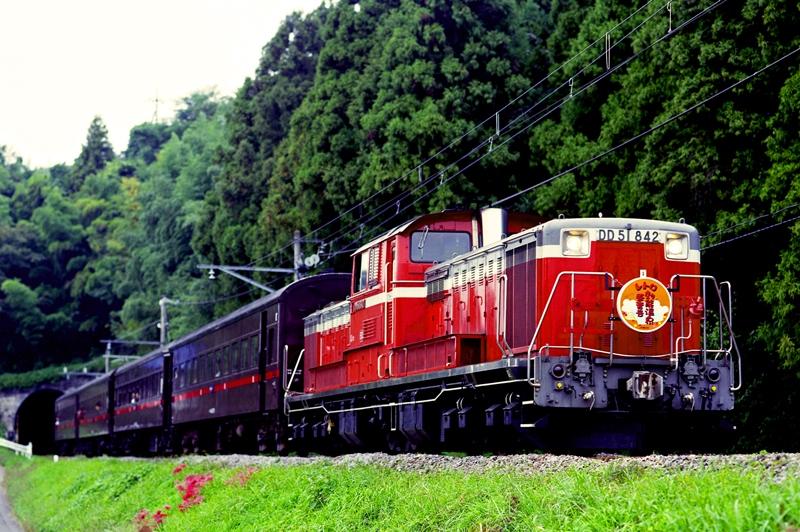 2000年10月8日 小野上~祖母島にて