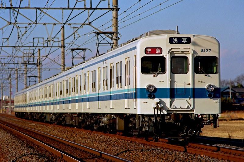 2001年1月2日 東武動物公園~姫宮にて