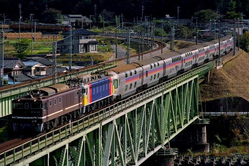 1999年11月2日 敷島~渋川にて