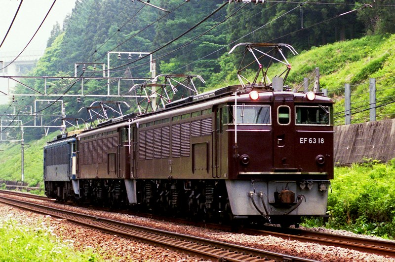 1997年5月13日 熊ノ平(信)~横川にて