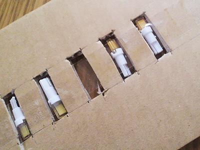 メーター用両面発光LED-T5電球