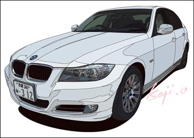 E90型BMW320i