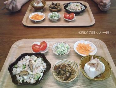 いたたきもののお寿司で晩ごはん3
