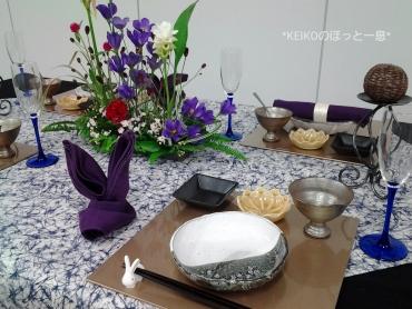 2016年お月見のテーブルコーデ2