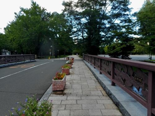 中島公園 白鶴橋 競馬場跡