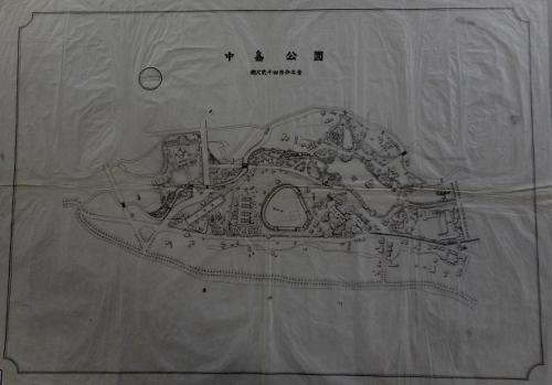 中島公園 昭和初期 図面