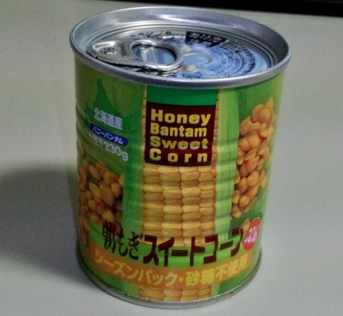 日食 缶詰 スィートコーン