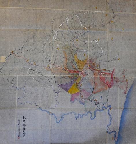 明治7年 札幌郡各村地図