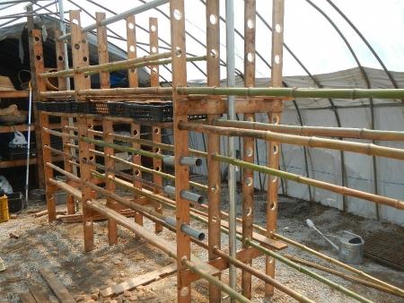 乾燥棚作り (4)
