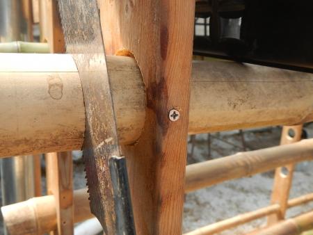 乾燥棚作り (3)