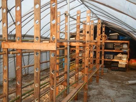 乾燥棚作り (6)