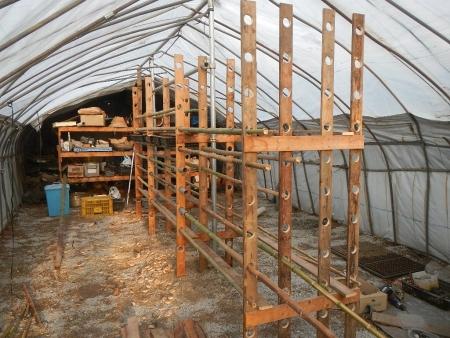 乾燥棚作り (5)