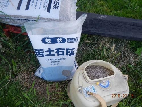 麦畑の耕起 (4)