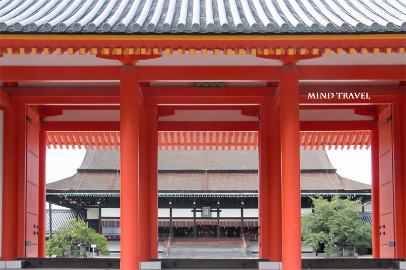 京都御所 承明門と紫宸殿
