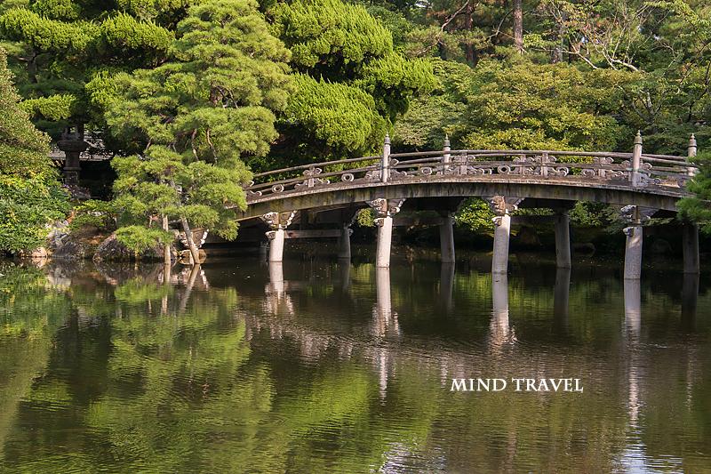 京都御所 池