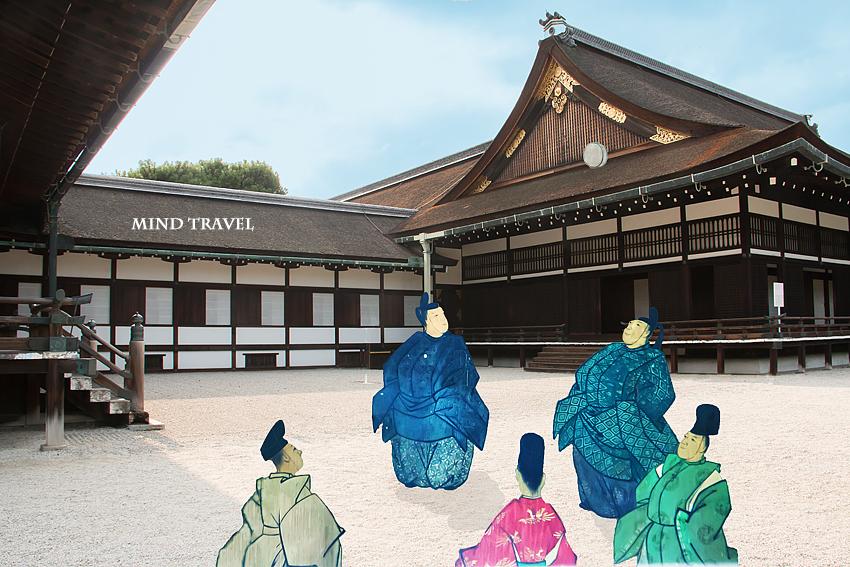 京都御所 蹴鞠の庭