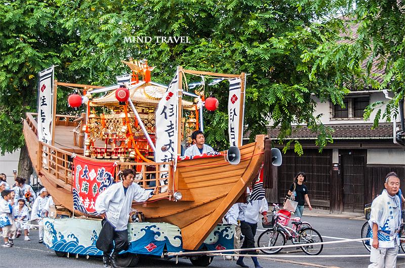 住吉祭 船