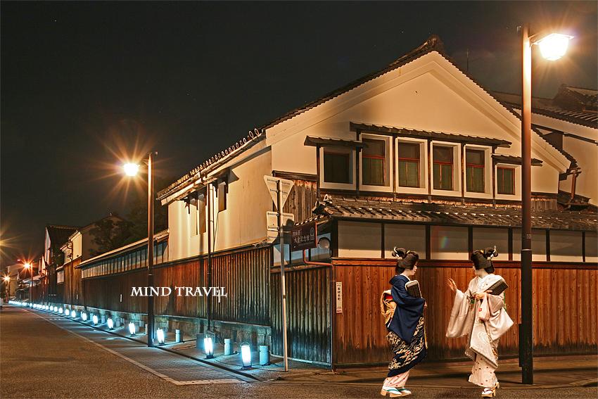 伏見酒蔵 ライトアップ3