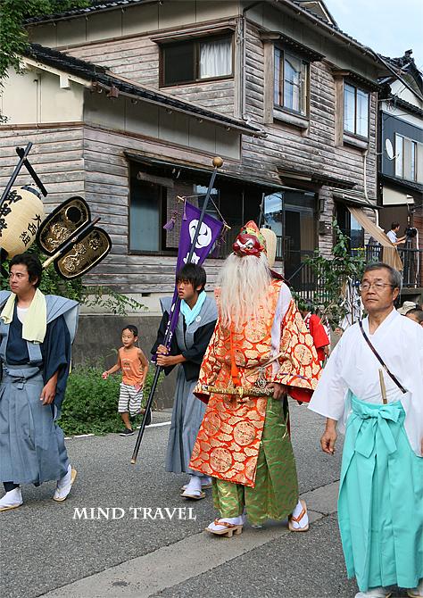 奥津比咩神社-輪島大祭 猿田彦