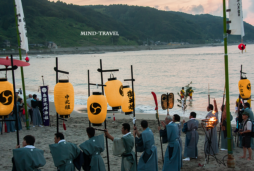 奥津比咩神社-輪島大祭 入水神事3
