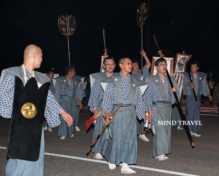 重蔵神社 行列