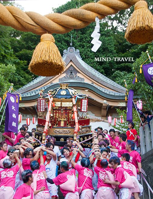 奥津比咩神社 神輿