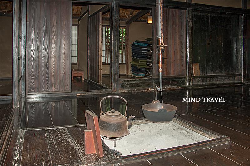 旧安西家住宅 囲炉裏