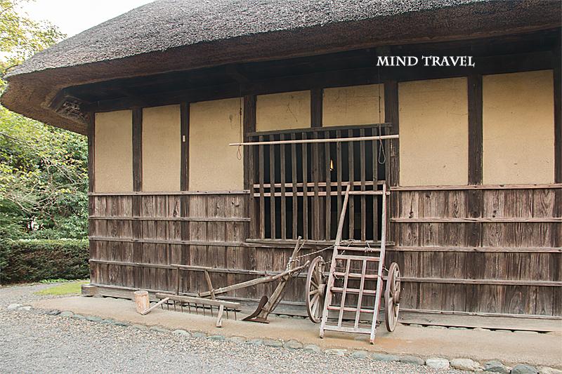 旧安西家住宅 農作業の道具