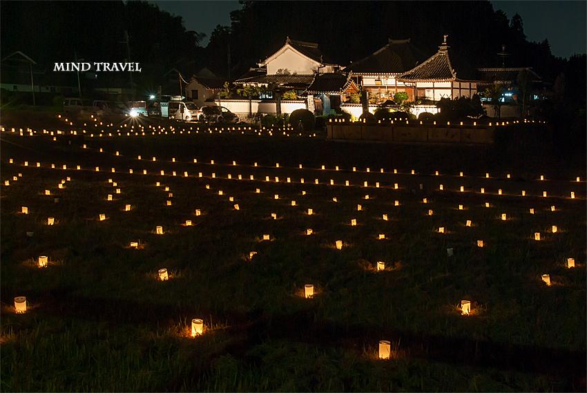 川原寺 ライトアップ