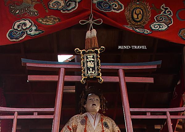亀岡祭 三輪山 御神体