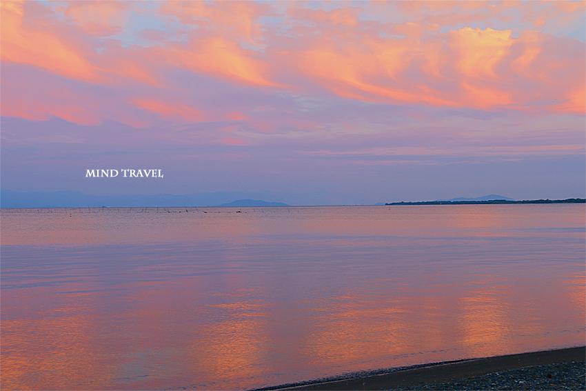 琵琶湖 夕景2