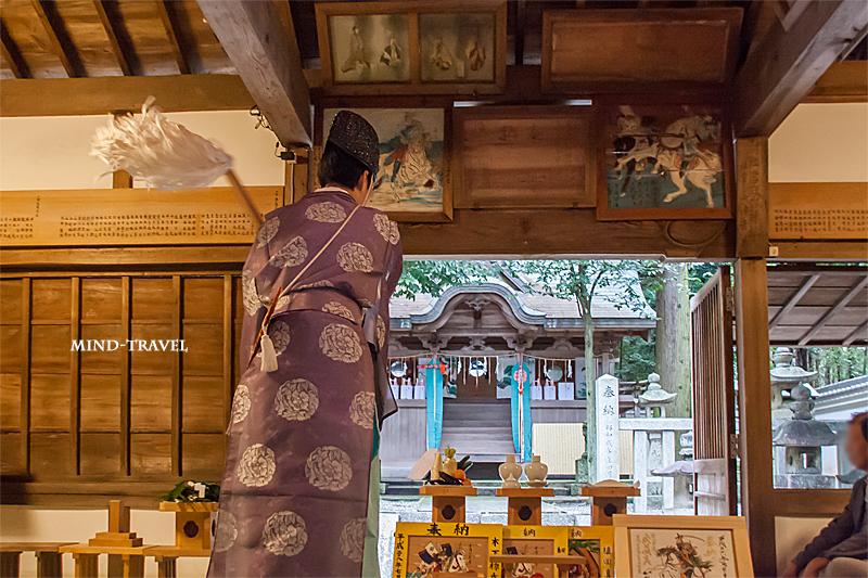 當麻山口神社 宵宮祭
