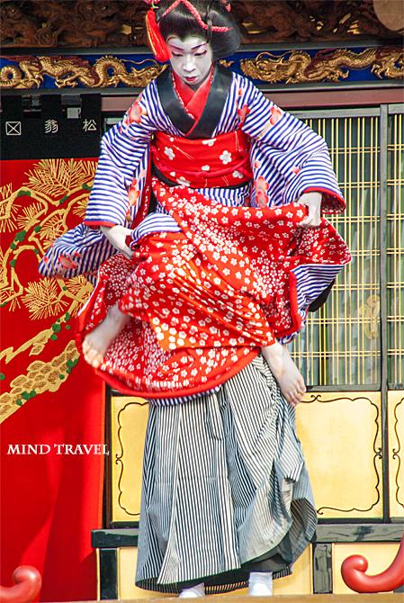米原子供歌舞伎 松翁山-人形振り