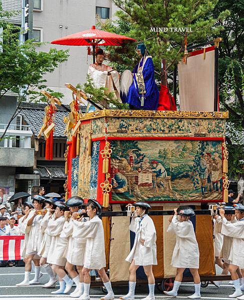 祇園祭 白楽天山