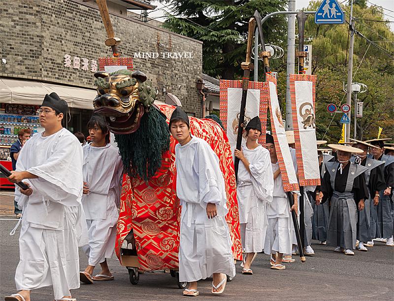 大津祭 獅子