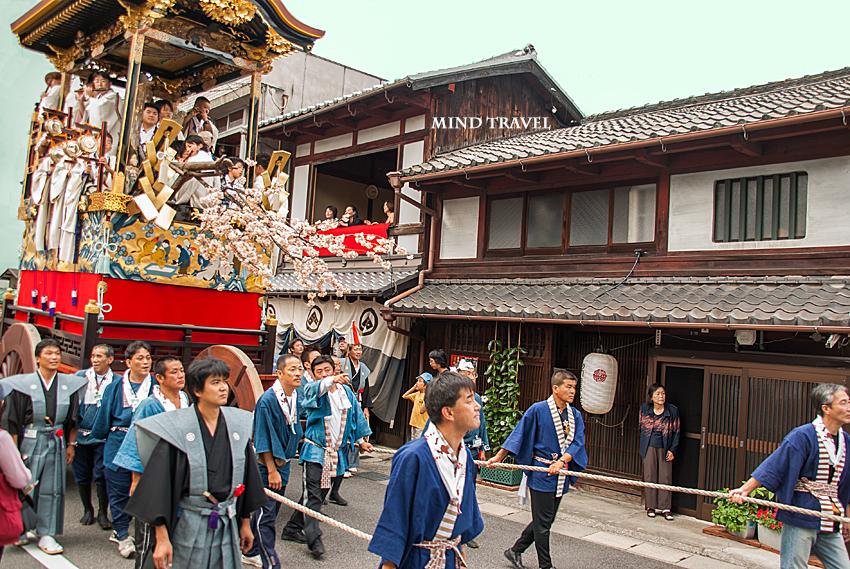 大津祭 桜熊山